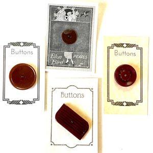 Vintage Lot of Bakelite/ Catalin Buttons